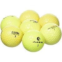 Longridge - Lote de 100 bolas de golf recuperadas variadas, Grado B amarillo amarillo