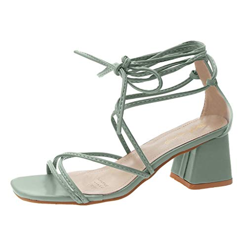 Wawer🍒 -Mode Kreuz Seil Zehen öffnen High Heels -Große Damenschuhe Frauen Espadrilles Lässig Sandalen Strandschuhe Einzelne Schuhe High Heels