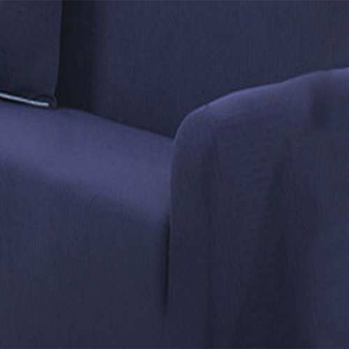 Homyl Sesselschoner Sesselhusse Stretchhusse Sofaschoner Sesselüberwurf, 1-3 Sitzer - Dunkelblau, 2 Sitz 145-185cm