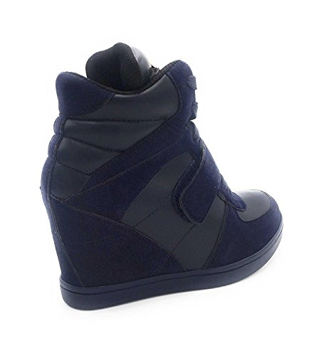 Oui Fashion Damen High-top Blau