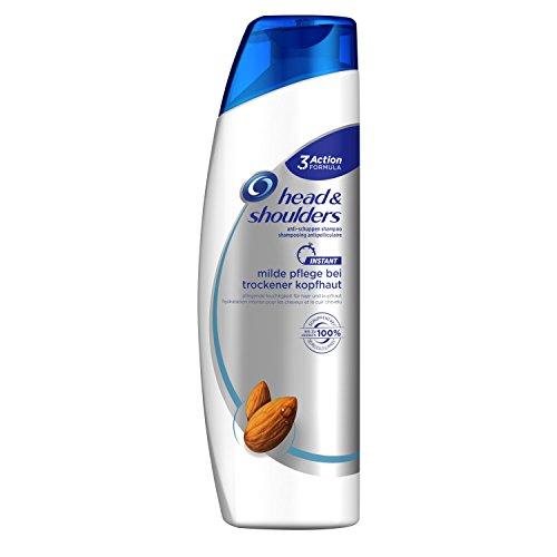 Champú anticaspa, cuidado y suavidad para la el cuero cabelludo seco de Head & Shoulders. Pack de 3 unidades de 260ml.
