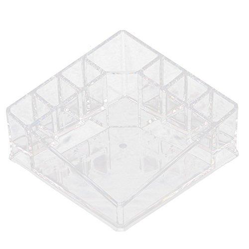 DealMux Acryl 8 Compartments Verfassungs-Werkzeug-Speicher-Halter-Schmuck-Box Organizer löschen