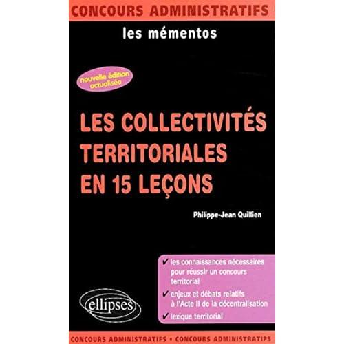 Les collectivités territoriales en 15 leçons