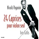 Paganini: 24 Caprices for Vln Solo by Ivry Gitlis (2007-02-26)