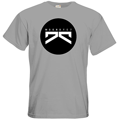 getshirts - Moondye7 official Merchandise - T-Shirt - Logo 3 pacific grey