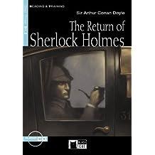 The Return of Sherlock Holmes - Buch mit Audio-CD (Black Cat Reading & Training - Step 3)