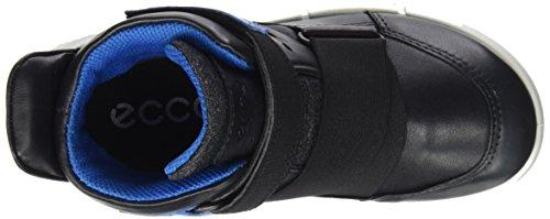 Ecco Unisex-Kinder Intrinsic Sneaker Schwarz (Black/Cobalt)