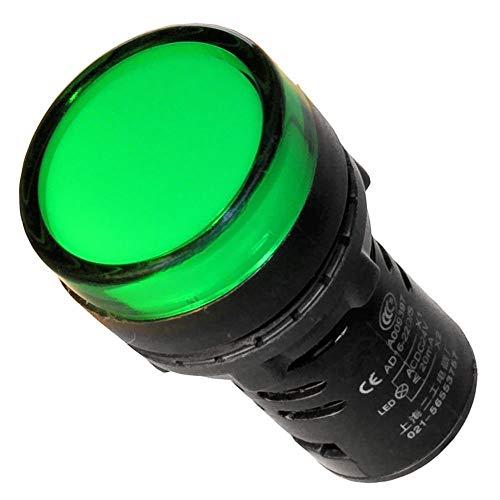 Leuchtmelder grün 230V 22mm Signalleuchte Kontrolleuchte -