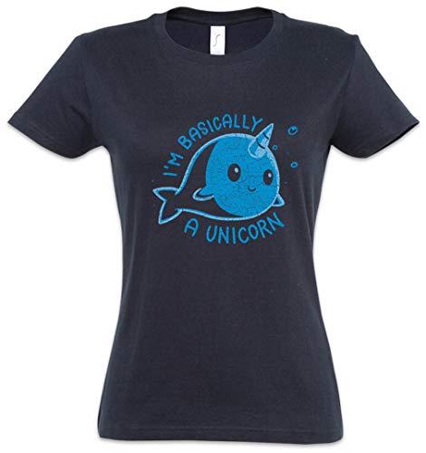 I'm Basically A Unicorn Mujer Girlie Women T-Shirt Tamaños XS – 2XL