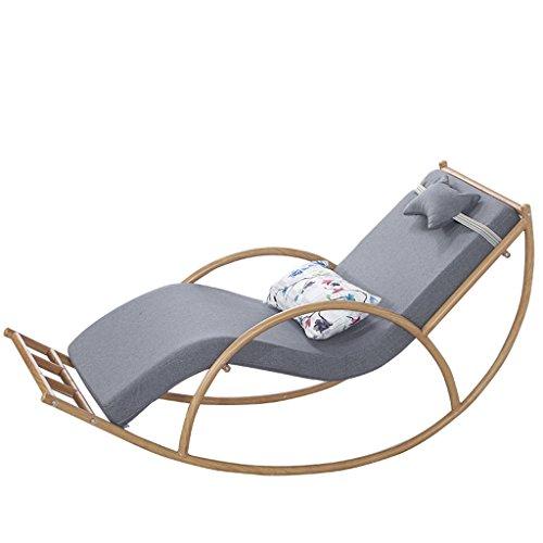 YLLXX Silla Fácil De Gran Tamaño Balcón Silla Reclinable para Adult