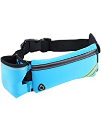 Outdoor Casual Sports Waist Bag Workout Fanny Pack Bag For Jogging Walking Hiking Climbing Camping (Blue)