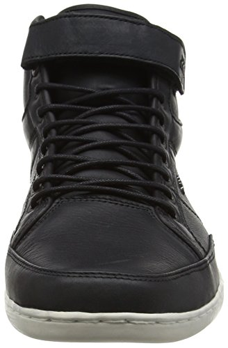 Boxfresh Herren Swich Prem Icn Lea Hohe Sneakers Schwarz (Black)