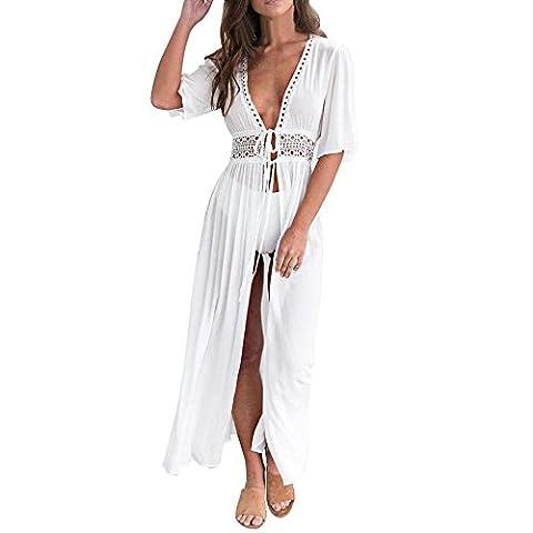 Manteau D Ete Femme Blanc - Femmes Sexy Robe, OverDose Robe Avec éPaules