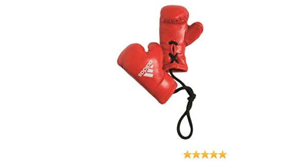 MINI BOXHANDSCHUHE f/ür Auto-Spiegel 9cm Rot Schwarz Autospiegel Deco Boxing Glove Anh/änger Rot