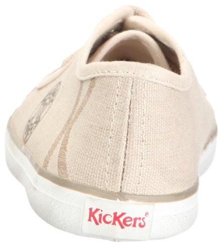 Kickers - Vegas, Scarpe basse Unisex – Bambini Weiss/off white