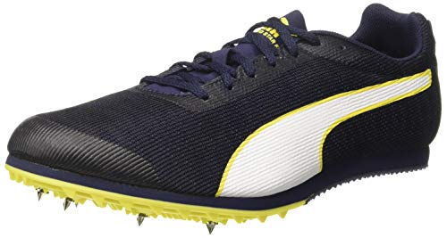 Puma Herren Evospeed Star 6 Leichtathletikschuhe, Schwarz (Peacoat Black-Blazing Yellow), 39 EU