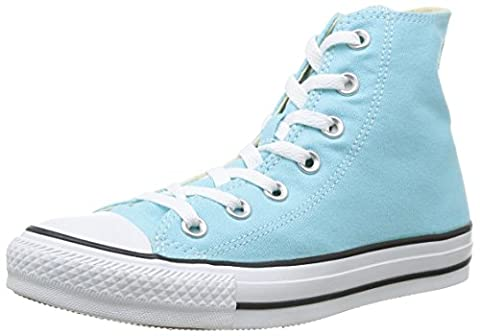 Converse Chuck Taylor All Star Hi Unisex-Adult Trainers Turquoise (Turquoise),UK