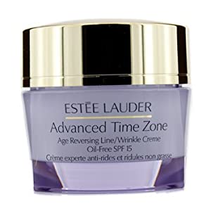 Moisturisers by Estee Lauder Advanced Time Zone Age Reversing Line Wrinkle Cream Oil-Free SPF15 50ml