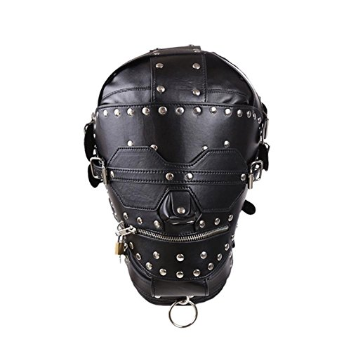 COSY-L Rubber club Accessories Hood Mash Hood Full Head Face the Hole Mouth SM001