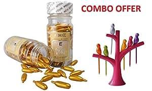 Shoptoshop Aloe Vera & Vitamin E Facial Oil - 60 Capsules