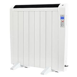Lodel RA8 – Emisor Térmico Digital Bajo Consumo, 1200 de Potencia, 8 Elementos, Programable, Diseño Ultrafino y Ligero