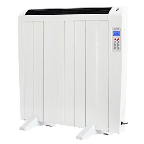 Lodel RA8 - Emisor Térmico Digital Bajo Consumo, 1200 de Potencia, 8 Elementos, Programable, Diseño...