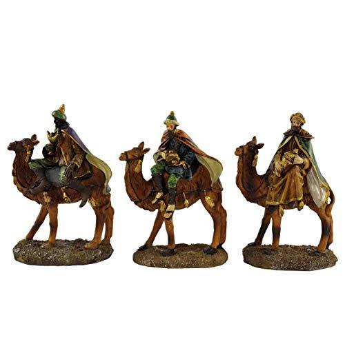 Flower SL Personajes Reyes Magos Ref. CM.12°C/Camellos Unidades.3162