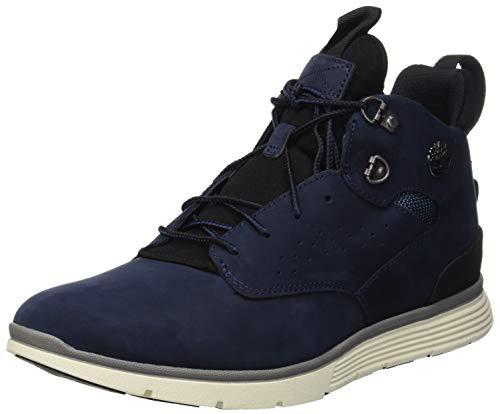 Timberland Herren Killington Hiker Sneaker Halbhoch, Blau (Black Iris Nubuck 19), 42 EU - Timberland Herren Block