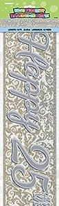 Partido Ênico 12 pies Prisma Feliz 25 Aniversario Banner