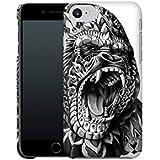 Handyhülle mit Designs für Ihn: iPhone 7 Hülle / aus recyceltem PET / robuste Schutzhülle / Stylisches & umweltfreundliches iPhone 7 Case - Apple iPhone 7 Schutzhülle: Gorilla von BioWorkZ