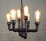 Willsego Loft Retro Chandelier Creative Coffee Shop Bar Beleuchtung Restaurant Bleie Industrie Bar Treppen Eisen Lampen - -