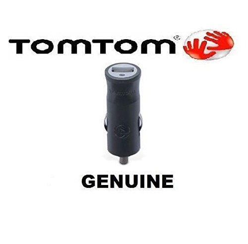 OFFICIAL GENUINE TomTom USB CAR CHARGER HEAD GO/LIVE/VIA 12/24 INPUT 5V 1.2A OUT