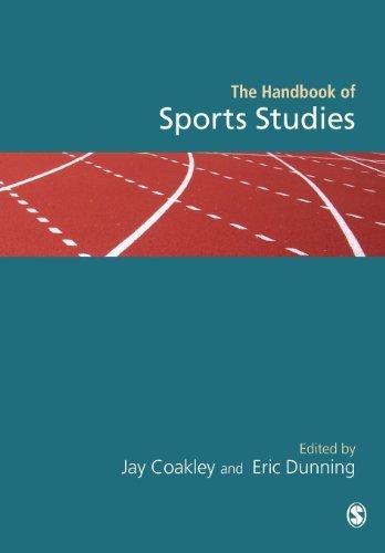 Handbook of Sports Studies by SAGE Publications Ltd (2003-06-03)