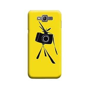 Desicase Samsung Grand Prime Get Ready To Snap 3D Matte Finishing Printed Designer Hard Back Case Cover (Black)