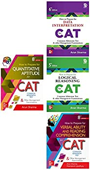 CAT Test Pep Series by Arun Sharma