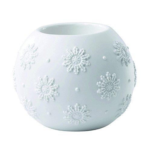 Wedgwood Snowflake Votive Christmas Ornament, White by Wedgwood -