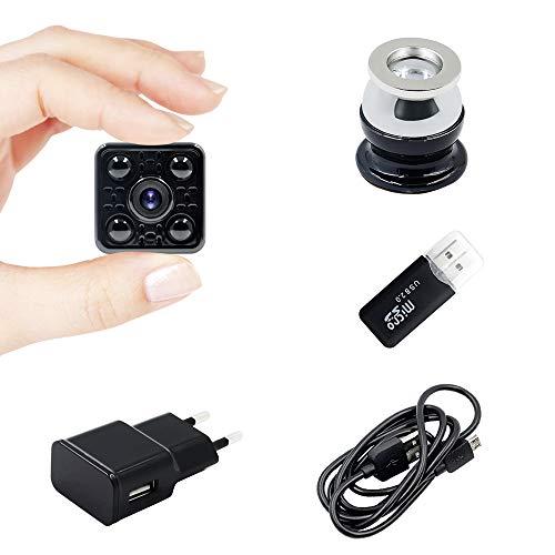 Mini Camera Spia LXMIMI Telecamera Nascosta Telecamera 1080P Wifi Telecamera Spia Videocamera 140 ° Grandangolare Nascosta Microcamera con Visione Notturna e Rilevamento del Movimento - 8