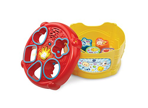 Image of VTech Baby Sort and Discover Drum - Multi-Coloured