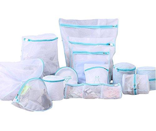 Mesh-Wäschebeutel, feines Mesh für Maschinenwäsche, Dessous, Strumpfhosen, Socken und Unterwäsche (5-13pcs) (Chiffon-mesh-bhs)