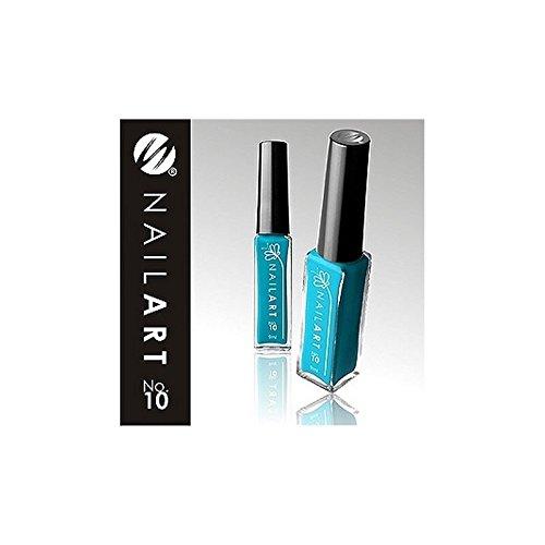 silcare - Liner ongle - stripper - bleu ciel 10
