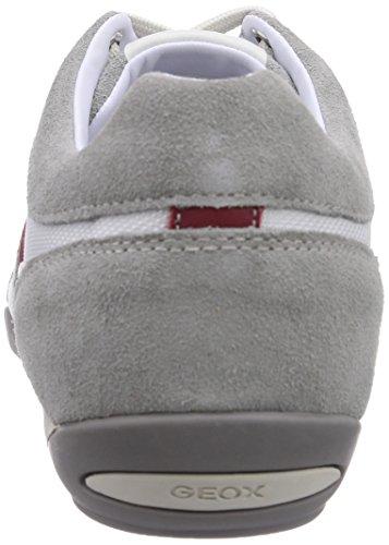 GEOX - U Wells, Scarpa Tecnica da uomo Bianco (White/Icec0130)