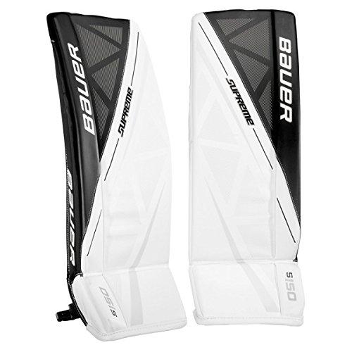 Bauer Supreme S150 Goalie Pads Junior, size:M;color:white/black