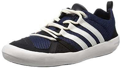 adidas Climacool Boat Lace B26 Herren Sneaker, Blau (Collegiate Navy/Chalk White/Core Black), 44 EU