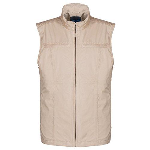AyeGear 26 Taschen Reise Vest mit Dual iPad Taschen, Wetterfest, Leicht, Khaki, XLarge (Laptop-tasche Flughafen-freundlichen)