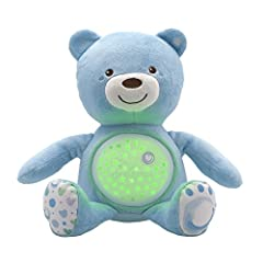 Idea Regalo - Chicco 80152 - First Dreams Orsacchiotto, Azzurro