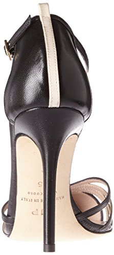 SJP by Sarah Jessica Parker Damen Carrie 100 T-Spangen Pumps Schwarz (Black Kid)