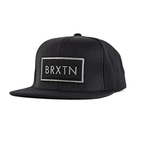 Preisvergleich Produktbild 'Brixton Mfg Co. Herren Rift Snapback Hat / Cap Dark schwarz / schwarz
