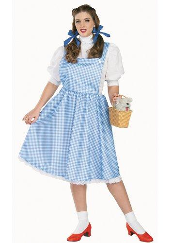 Dorothy Zauberer von Oz Damenkostüm (XL) Halloween Karneval Verkleidung Damen (Dorothy Zauberer Von Oz Halloween-kostüm)