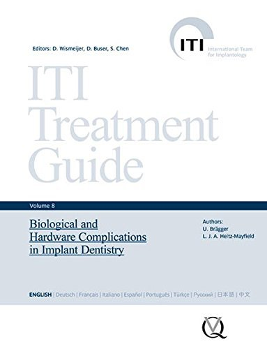 ITI Treatment Guide, Volume 8: Biological and Hardware Complications in Implant Dentistry (Iti Treatment Guides) by Daniel Wismeijer (2015-02-09)