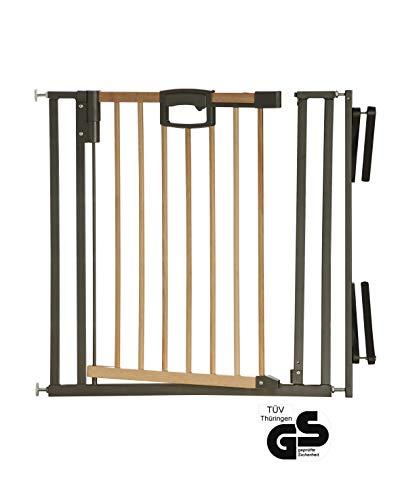Über Tür-Übung (Geuther - Treppenschutzgitter Easylock Wood 2793 zur Montage am Treppengeländer)